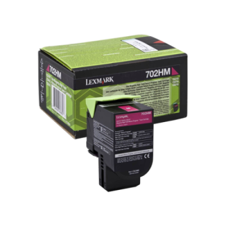 Lexmark 702HM Magenta High Capacity Return Toner Cartridge