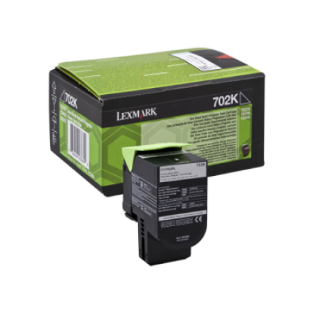 Lexmark 702K Black Return Toner Cartridge