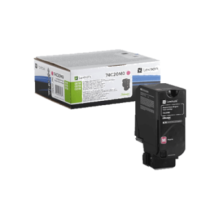 Lexmark 74C2SM0 Magenta Return Toner Cartridge