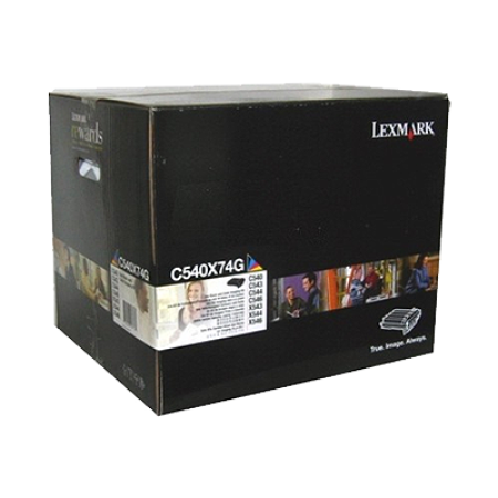 Lexmark C540X74G Black And Colour Imaging Kit