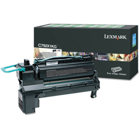 Lexmark C792 Black Return HC Toner Cartridge