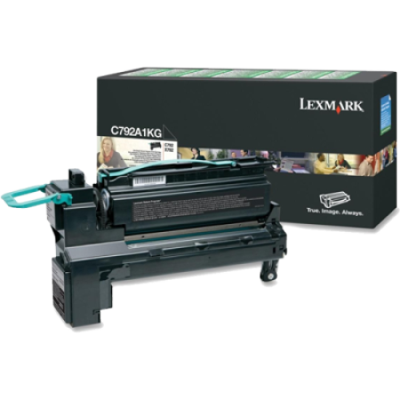 Lexmark C792 Black Return Toner Cartridge