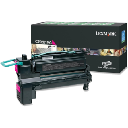 Lexmark C792 Magenta Return HC Toner Cartridge