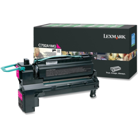 Lexmark C792 Magenta Return Toner Cartridge
