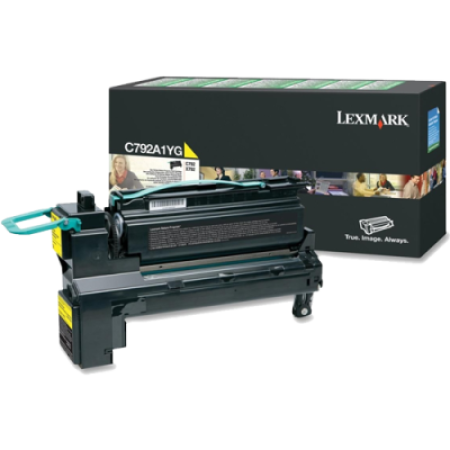 Lexmark C792 Yellow Return Toner Cartridge