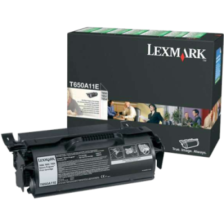 Lexmark T650A11E Return Black Toner Cartridge