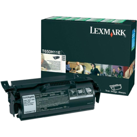 Lexmark T650H11E High Capacity Return Black Toner Cartridge