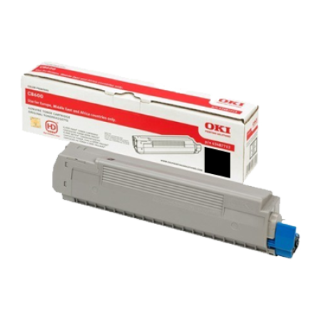 OKI 43487712 Black Toner Cartridge
