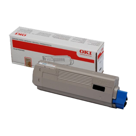OKI 44318608 Black Toner Cartridge
