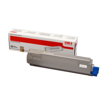 OKI 44643001 Yellow Toner Cartridge