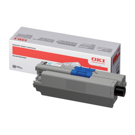 OKI 44973508 Black High Capacity Toner Cartridge