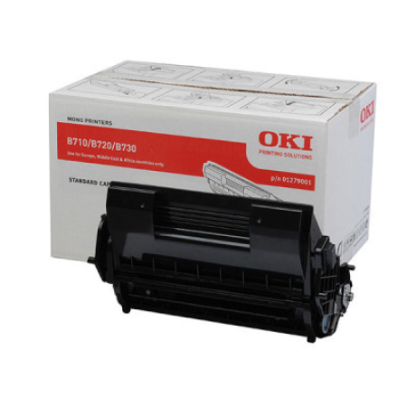 OKI 01279001 Black Toner Cartridge