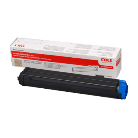 OKI 43502302 Black Toner Cartridge