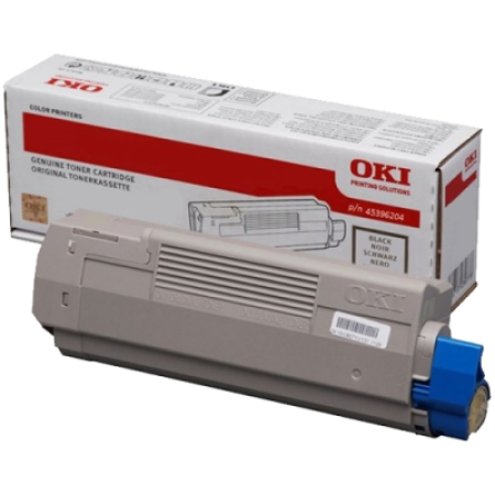 OKI 45396204 High Capacity Black Toner Cartridge