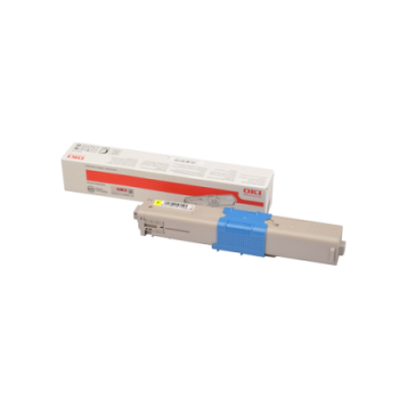 OKI 46508709 High Capacity Yellow Toner Cartridge
