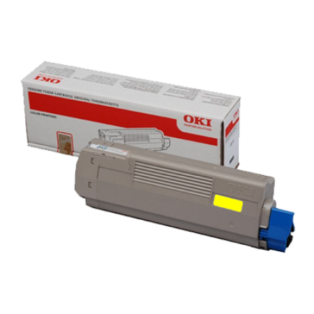 OKI 43865721 Yellow Toner Cartridge