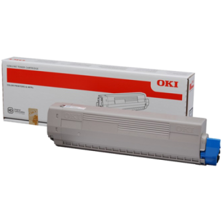 OKI 45862837 Yellow Toner Cartridge