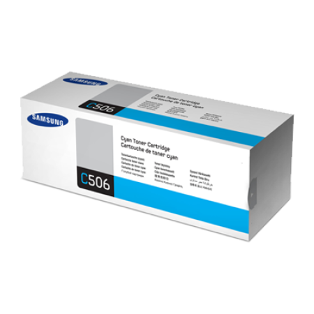 Samsung CLT-C506L High Capacity Cyan Toner Cartridge