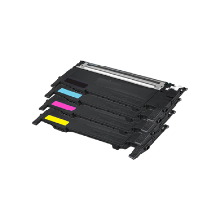 Samsung CLT-K4092S Toner Cartridge Bundle Pack - 4 Toners