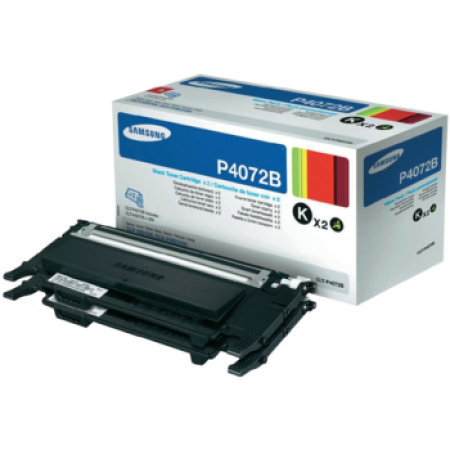 Samsung CLT-P4072B Black Toner Cartridge TWIN PACK