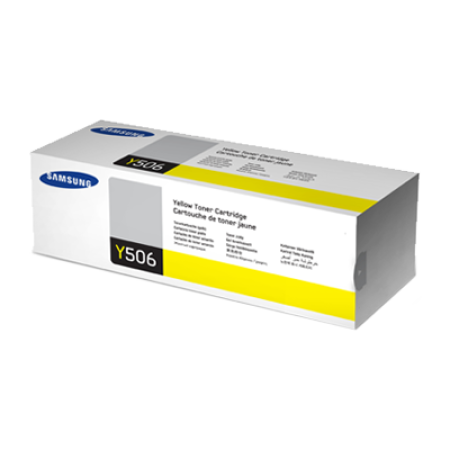 Samsung CLT-Y506L High Capacity Yellow Toner Cartridge