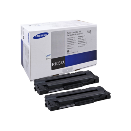 Samsung MLT-P1052A/ELS Black Toner Cartridge Twin Pack