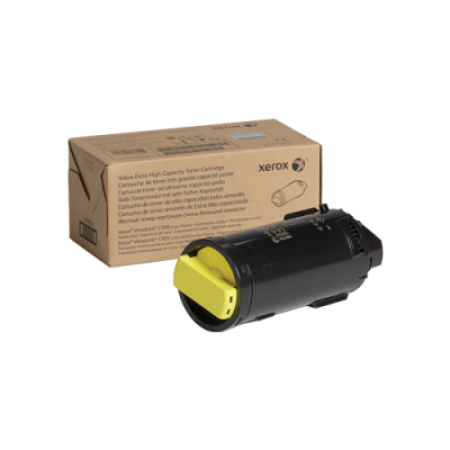 Xerox 106R03875 Yellow Extra High Capacity Toner Cartridge