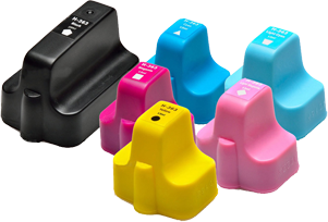 HP Photosmart D6160 Ink Cartridges