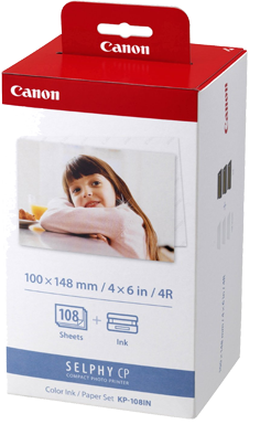 Canon KP108 Selphy CP Pack