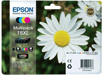 epson xp 202 daisy ink cartridges T1816