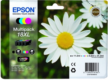 epson xp 405WH daisy ink cartridges T1816