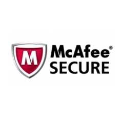 Secured with McAfee