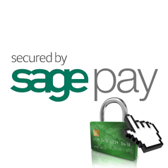 Your payments are secured with Sagepay
