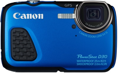 Canon Powershot D30 at Internet-ink