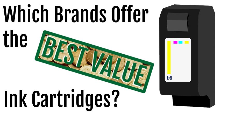 which brands offer the best value ink cartridges