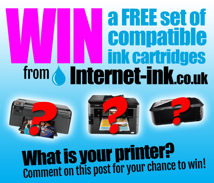 Win A Free Set Of Compatible Ink