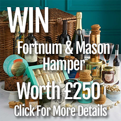Win a Fortnum and Mason Christmas hamper worth £250