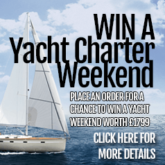 Win a Yacht Charter Weekend in our Competition