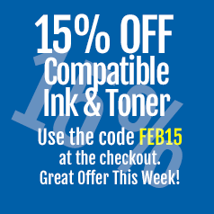 Save on compatible ink cartridges with discount code this February