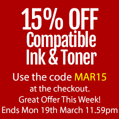 Save on compatible ink cartridges with discount code this March