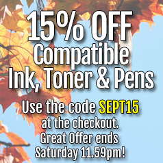 save on compatible toner and compatible ink cartridges