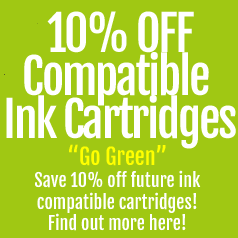 save with compatible ink cartridges
