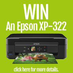 Win an Epson XP-322 Printer