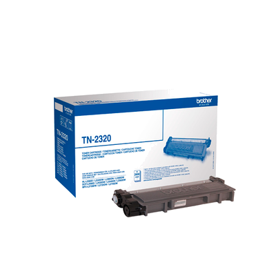 Original Black High Capacity Toner Cartridge - Brother TN2320