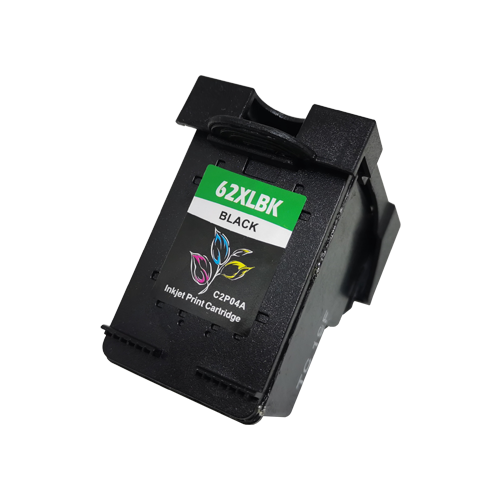 compatible hp 62xl black ink cartridge high capacity 20ml